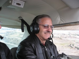 My Dad John Barba Flying his Cessna 150