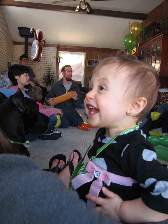 Gianna Birthday Laughing