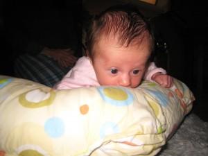 Gianna as an infant