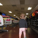 Gianna in the Bowling Alley